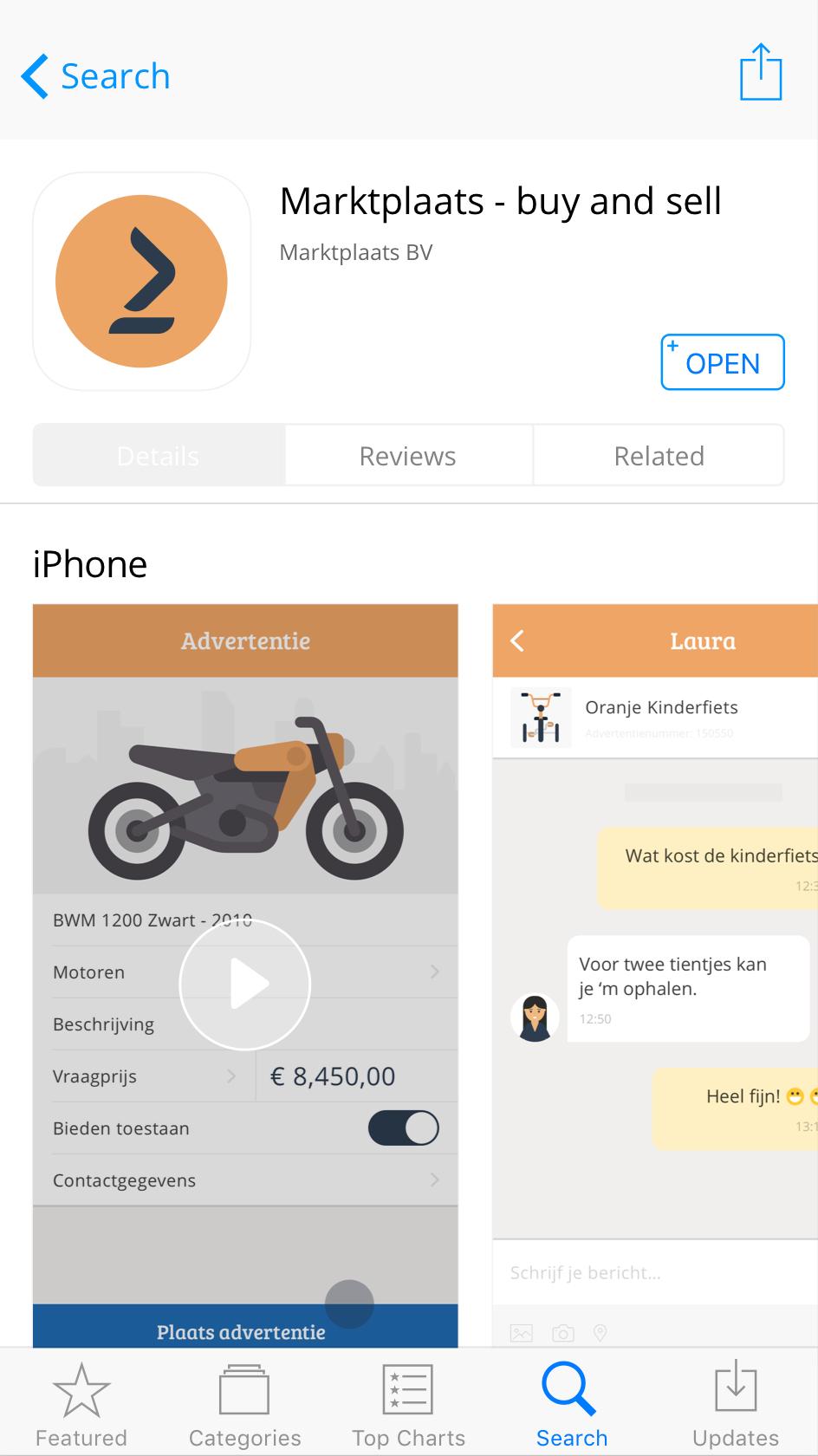Marktplaats-Appstore