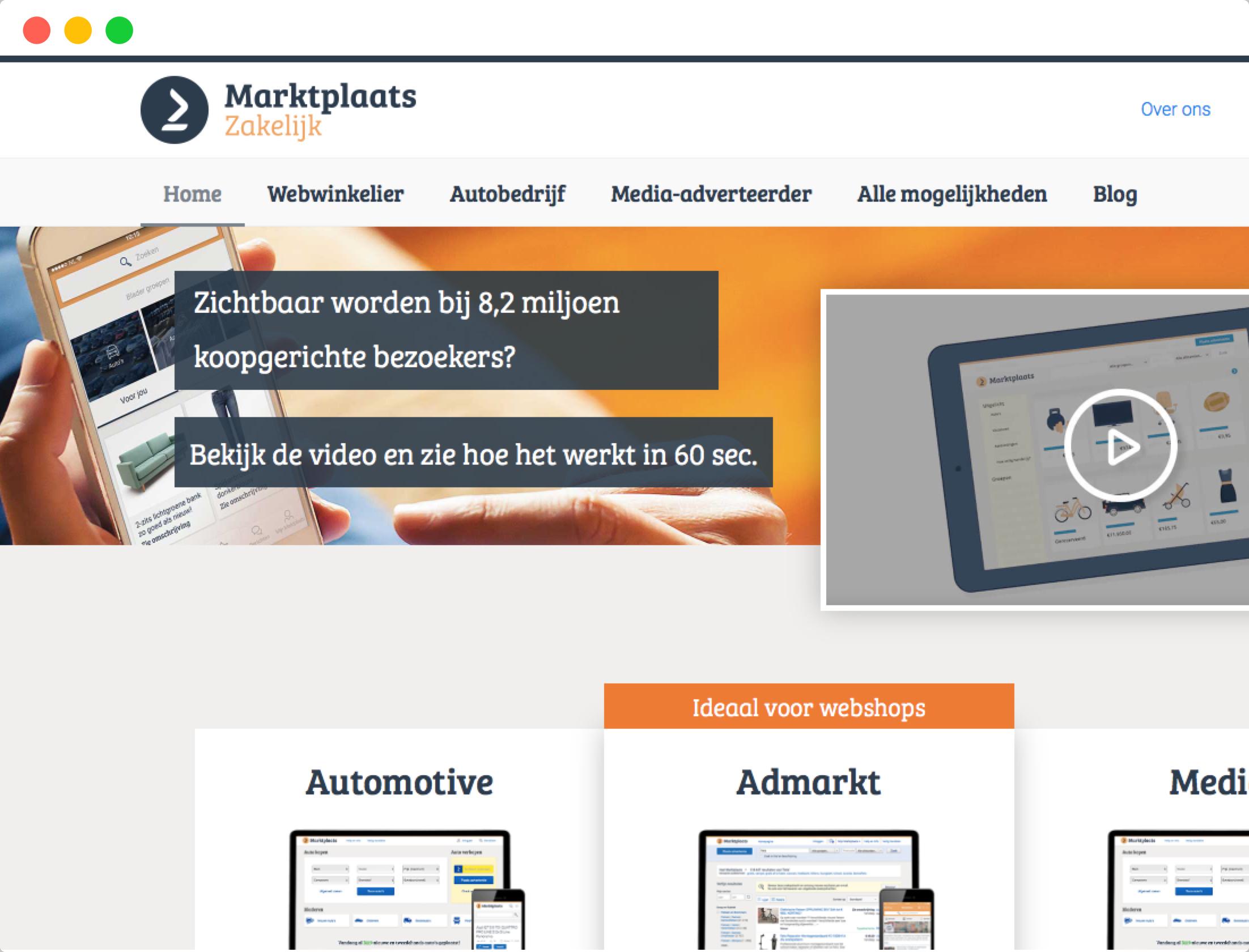 Marktplaats-Website